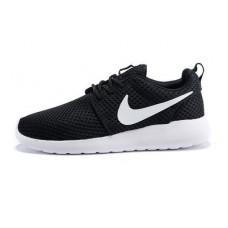 Nike Roshe Run Super 2015 черные с белым